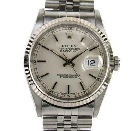 ROLEX ロレックス デイトジャスト ウォッチ 腕時計 16234 U番 シルバー K18WG(750)ホワイト
