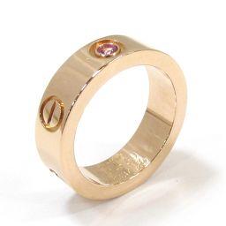 Cartier カルティエ ピンクサファイヤ ラブリング 指輪 ゴールド K18PG(750) ピンクゴールド ×