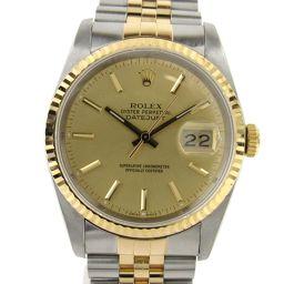 ROLEX ロレックス デイトジャスト ウォッチ 腕時計 16233 R番 ゴールド K18YG(750)イエロー