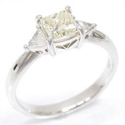 JEWELRY ジュエリー ダイヤモンドリング 指輪 イエロー PT900 プラチナ xダイヤモンド(1.017/