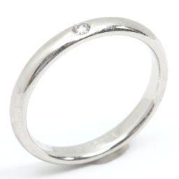 HARRY WINSTON ハリーウィンストン 1P ダイヤモンド リング 指輪 クリアー PT950 プラチナ