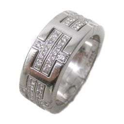 HERMES エルメス キリムダイヤモンドリング 指輪 シルバー K18WG(750) ホワイトゴールド  x ダ