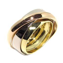 Cartier カルティエ トリニティリング マストエッセンス リング 指輪 ゴールドxシルバーxピンクゴールド