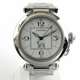 Cartier カルティエ パシャC ビッグデイト ウォッチ 腕時計 シルバー ステンレススチール(SS) 【中古