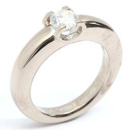 Cartier カルティエ Cドゥカルティエ ダイヤモンドリング 指輪 クリアー K18WG(750) ホワイトゴ
