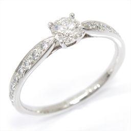 TIFFANY&CO ティファニー ダイヤモンドリング 指輪 クリアー PT950 プラチナ xダイヤモンド(0.