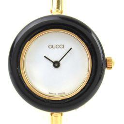 GUCCI グッチ チェンジベゼル ウォッチ 腕時計 ゴールド GP(ゴールドメッキ) 【中古】【ランクA】 レデ