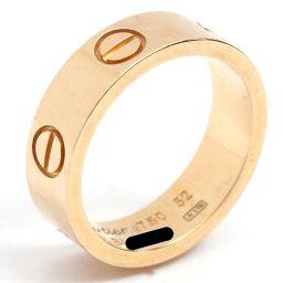 Cartier カルティエ ラブリング 指輪 ゴールド K18YG(750) イエローゴールド 【中古】【ランクA