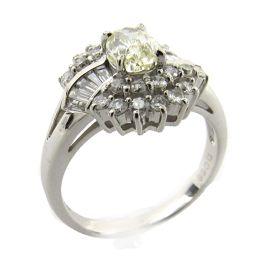 JEWELRY ジュエリー ダイヤモンド リング 指輪 クリアー PT900 プラチナ  x ダイヤモンド (0.