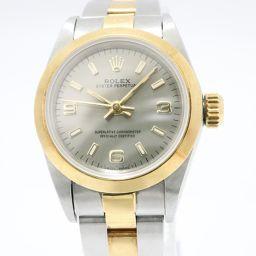 ROLEX ロレックス オイスター パーペチュアル 腕時計 67183 シルバー ステンレススチール(SS) x