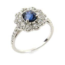 JEWELRY ジュエリー サファイア ダイヤモンド リング 指輪 ブルー PT900 プラチナ xサファイア1.