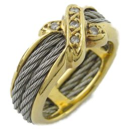 PHILIPPE CHARRIOL シャリオール ダイヤモンド リング 指輪 ゴールド K18YG(750) イエ