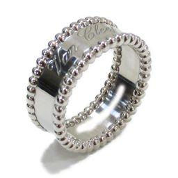 Van Cleef & Arpels ヴァンクリーフ&アーペル リング 指輪 シルバー K18WG(750) ホワ