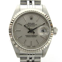 ROLEX Rolex Datejust Watch Wristwatch 79174 Silver K18WG (750) White Go