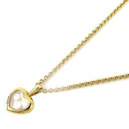 Chopard ショパール ハッピーダイヤモンド ネックレス クリアー K18YG(750) イエローゴールド