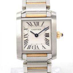 Cartier カルティエ タンクフランセーズSM 腕時計 ウォッチ W51007Q4 アイボリー ステンレススチ