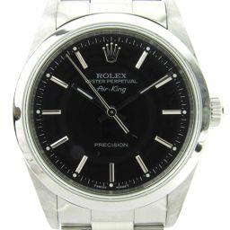 ROLEX ロレックス エアキング ウォッチ 腕時計 14000 シルバー ステンレススチール(SS) 【中古】【