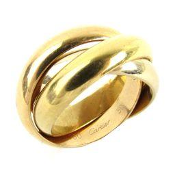 Cartier カルティエ トリニティリング リング 指輪 ゴールド K18WG(750) ホワイトゴールド  x