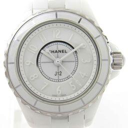 CHANEL シャネル J12 ホワイトファントムリミテッド ウォッチ 腕時計 H3705 ホワイト ステンレスス