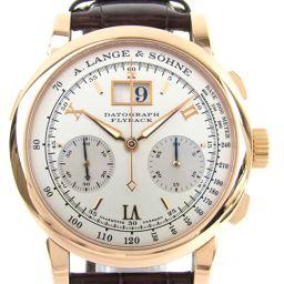 LANGE & SOHNE ランゲ アンド ゾーネ ダトグラフ ウォッチ 腕時計 403.032 ブラウン K18