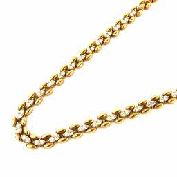 PIAGET ピアジェ ダイヤモンド ネックレス クリアー K18YG(750) イエローゴールド xダイヤモンド