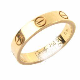 Cartier カルティエ ミニラブリング 指輪 ゴールド K18PG(750) ピンクゴールド 【中古】【ランク