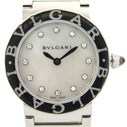BVLGARI ブルガリ ブルガリ ブルガリ 12Pダイヤモンド  ウォッチ 腕時計 BBL26S シルバー ステ