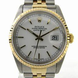ROLEX ロレックス デイトジャスト ウォッチ 腕時計 16233 シルバー K18YG(750)イエローゴール