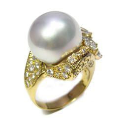 JEWELRY ジュエリー リング ジュエリー 指輪 ゴールド K18YG(750) イエローゴールド ×ダイヤモ