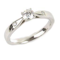 NINA RICCI ニナ・リッチ 一粒 ダイヤモンド リング 指輪 クリアー PT900 プラチナ xダイヤモン