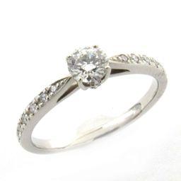 STAR JEWELRY スタージュエリー ダイヤモンド リング 指輪 クリアー PT950 プラチナ  x ダイ