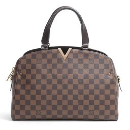 LOUIS VUITTON ルイヴィトン ケンジントンボーリング 2wayバッグ N41505 ダミエ ダミエ 【