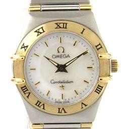 OMEGA オメガ コンステレーション ミニ ウォッチ 腕時計 1362.70 ホワイト ステンレススチール(SS