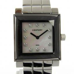 CENTURY センチュリー タイムジェム 12Pダイヤモンド ウォッチ 腕時計 99 007 20 シルバー ス