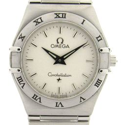 OMEGA オメガ コンステレーション ウォッチ 腕時計 ホワイト ステンレススチール(SS) 【中古】【ランクA