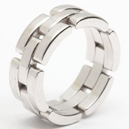 Cartier カルティエ マイヨンパンテールリング 指輪 シルバー K18WG(750) ホワイトゴールド 【中