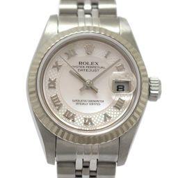 ROLEX ロレックス デイトジャスト レディースウォッチ 腕時計 79174NRD ピンク K18WG(750)