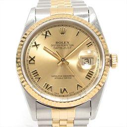 ROLEX ロレックス デイトジャスト 腕時計 ウォッチ 16233 ゴールド ステンレススチール(SS) xK1