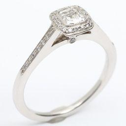 TIFFANY&CO ティファニー レガシー ダイヤモンド リング 指輪 クリアー PT950 プラチナ  x ダ