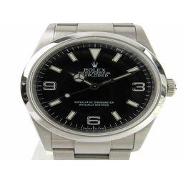 ROLEX ロレックス エクスプローラー1 ウォッチ 腕時計 114270 ブラック ステンレススチール(SS)