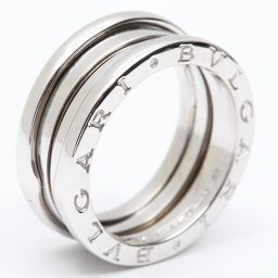 BVLGARI ブルガリ B-zero1 リング Sサイズ 指輪 ビーゼロワン シルバー K18WG(750) ホ