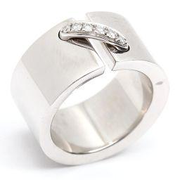 CHAUMET ショーメ リアンダイヤモンド リング 指輪 シルバー K18WG(750) ホワイトゴールド  x