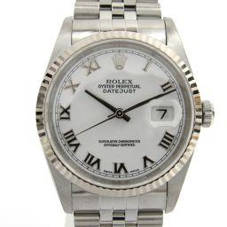 ROLEX ロレックス デイトジャスト ウォッチ 腕時計 16234 シルバー K18WG(750)ホワイトゴール