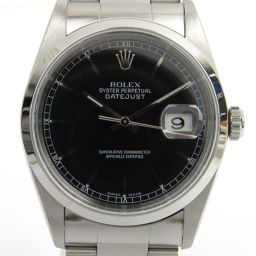 ROLEX ロレックス デイトジャスト ウォッチ 腕時計 16200 シルバー ステンレススチール(SS) 【中古