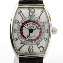 FRANCK MULLER フランク・ミュラー ヴェガス ウォッチ 腕時計 5850VEGAS ブラック pt95