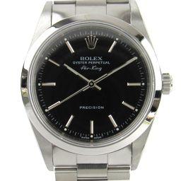 ROLEX ロレックス エアキング 腕時計 ウォッチ 14000M Y番 ブラック ステンレススチール(SS) 【