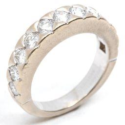 BOUCHERON ブシュロン ダイヤモンド リング 指輪 クリアー K18WG(750) ホワイトゴールド  x