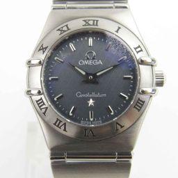 OMEGA オメガ コンステレーション ウォッチ 時計 1562.40 ブラック ステンレススチール(SS) 【中