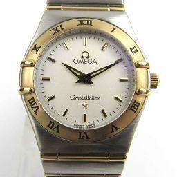 OMEGA オメガ コンステレーション ミニ ウォッチ 時計 1262.30 ホワイト K18YG(750)イエロ