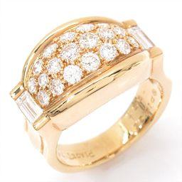 PIAGET ピアジェ ダイヤモンドリング 指輪 クリアー K18YG(750) イエローゴールド xダイヤモンド